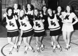 Panther cheerleaders 1970s