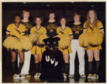 Panther cheerleaders late 70s