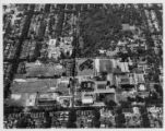Aerial view of campus 1964