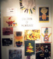 "Children of Milwaukee Exhibition ""Gallery Wall with Sign"" (Slide 25)"