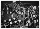 Freshmen dance in September 1955