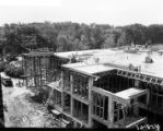 UWM Library, early construction