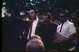 News film clip of a White Power rally and march in Milwaukee, September 12, 1967