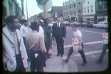 News film clip of a White Power march in Milwaukee, September 23, 1967