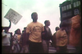 News film clip of the fair housing march, August 29, 1967