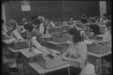 News film clips (partial) from the special assignment on school boycotts and de facto segregation...