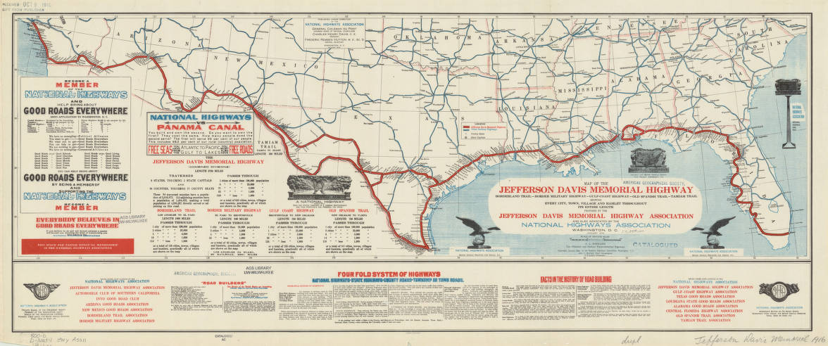 Southern And Central United States Map Stock Photo 173558308
