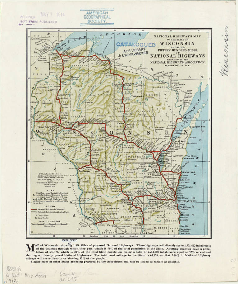 Wisconsin 1913 - American Geographical Society Liry ... on geographical map of florida, geographical map of new mexico, physical features of washington state, national geographic washington state, geographic center of washington state, timeline of washington state, george washington, largest mountain in washington state, geographical map of the us, geography of washington state, united states of america, transportation of washington state, geographical map of the usa, major crops of washington state, new mexico, geographical map of west virginia, geographical map of chicago, geographical map of alaska, geographical map of new jersey, geographical map of united states, north dakota, 1950 census washington state, scales in washington state, geographical problems, new york,