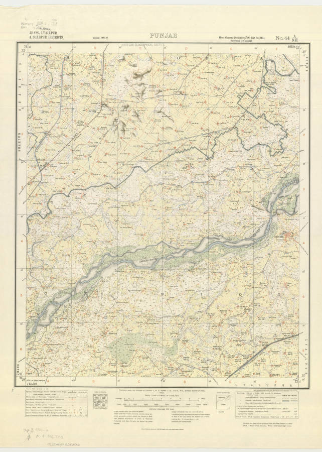 Punjab, India 1921 - American Geographical Society Library