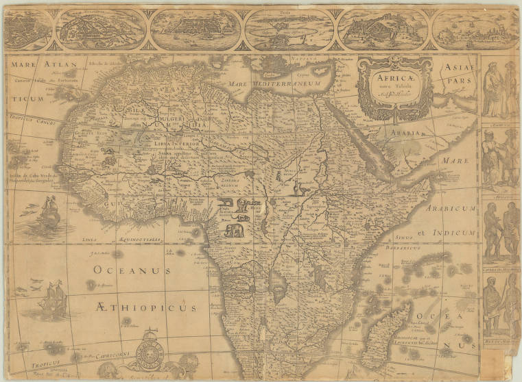 Africa 1619   American Geographical Society Library Digital Map
