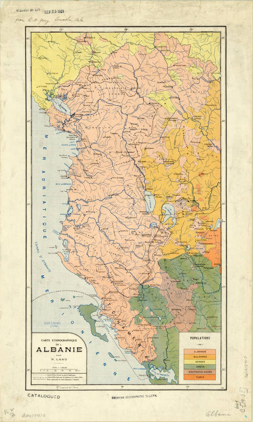 Albania 1913 - American Geographical Society Library Digital ...