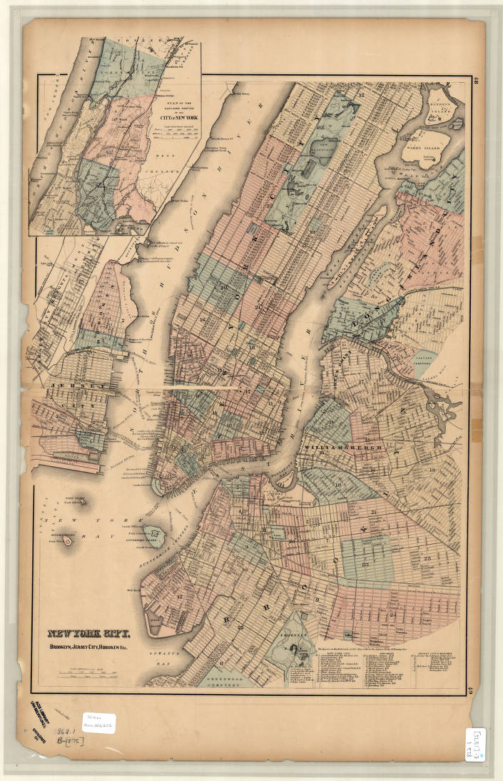 New York City, New York 1875 - American Geographical Society ... Map New Your City on new york outline, new york tourist map, new zip code map, nyc map, new your directions, new your city drawing, new york state map printable, new cit ny map, new town map, new school map, new york on us map, new orlando map, new your churches, new your water, garden city new york map, new map yokj, new york ny map,