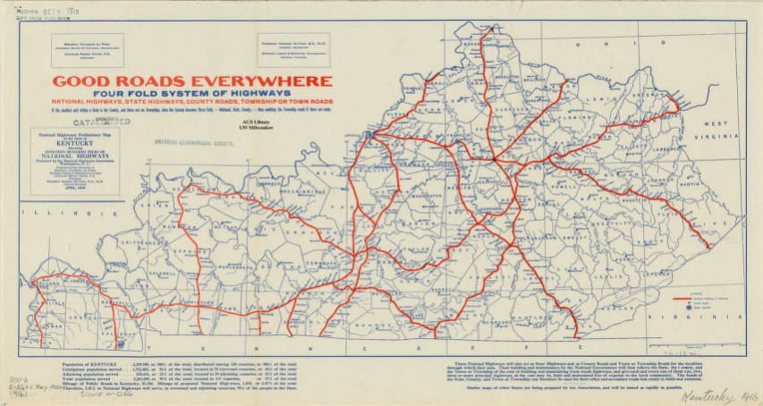 Kentucky 1916 - American Geographical Society Library ...