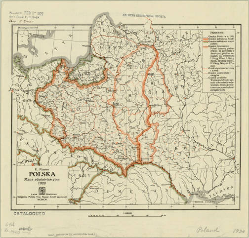 Map American Geographical Society Library Digital Map Collection