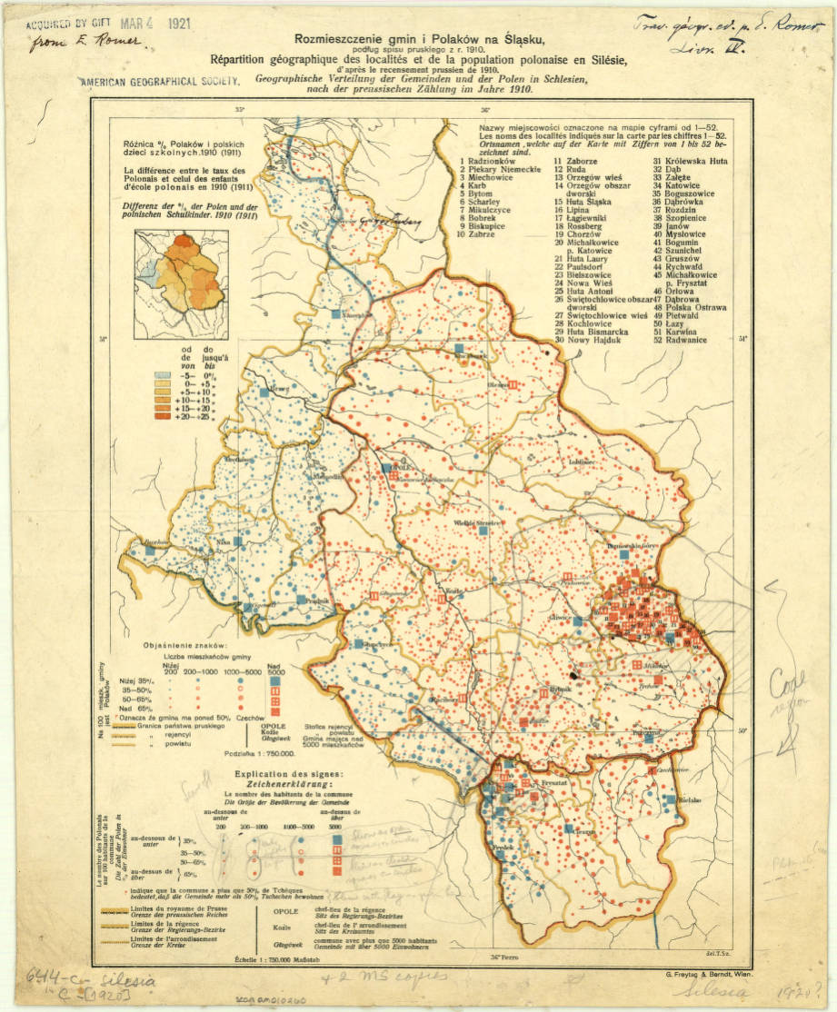silesia region of germany 1920