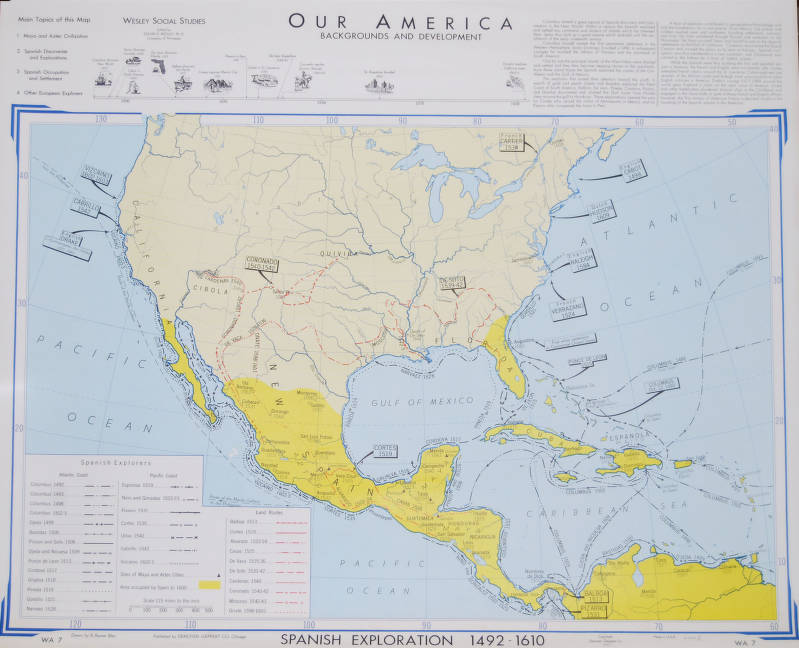 Map Of Spain 1492.Our America Backgrounds And Development Spanish Exploration 1492