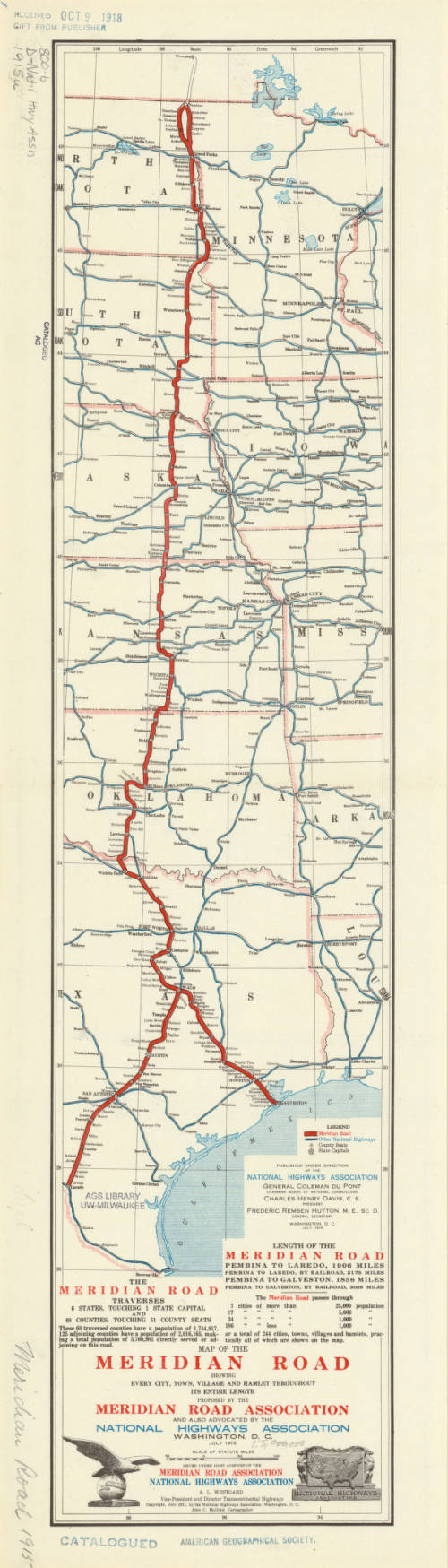 Central United States 1915 - American Geographical Society ...
